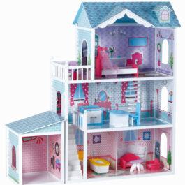 בית בובות מלכותי 3 קומות עם אבזור מלא